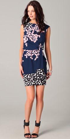 Diane von Furstenberg dress. So lovely.
