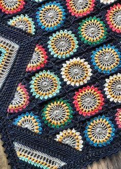 Crochet Pattern Free, Granny Square Crochet Pattern, Crochet Squares, Crochet Granny, Knit Crochet, Crochet Blocks, Crotchet, Crochet Afghans, Crochet Blanket Patterns