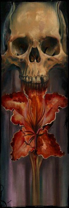skull Memento Mori, Baphomet, Crane, Skull Artwork, Skull Painting, Skull Pictures, Skulls And Roses, Vanitas, Skull Tattoos