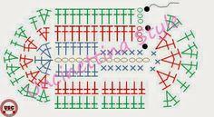 Schemi ad uncinetto, come elaborarli. Patterns to crochet, how to process them.