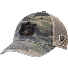 65eb1fa9f4e Auburn Tigers Top of the World Declare Trucker Adjustable Hat - Camo