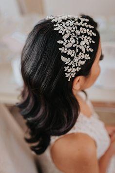 Bridal Tiara, Headpiece Wedding, Pearl Headpiece, Bridal Headpieces, Headpieces For Brides, Wedding Tiara Hair, Wedding Garters, Gatsby Wedding, Wedding Veils