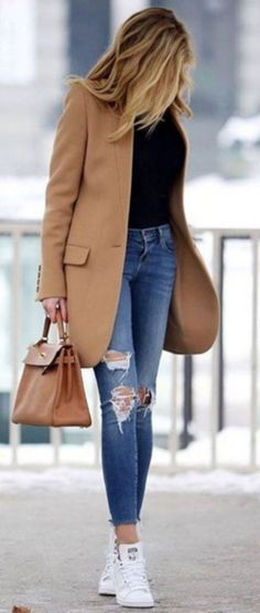 Spring Outfits With All Denim 35 - clothme.net