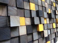 Wall Art ou tête de lit King Sculpture sur bois