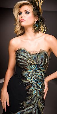 Peacock Wedding    An Exotic Celebration:    Turn up the elegance with this unique theme Great for party after wedding... [click for article]