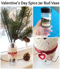 How-to: Valentine's Day Spice Jar Bud Vase - eclecticredbarn@gmail.com - Gmail