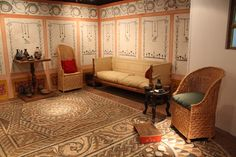 inside a house in Bible times