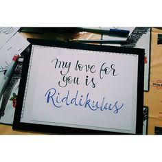 Partimos febrero con #HPLettering @hplettering hay que soltar la mano de alguna forma cuando el tiempo es escaso.. Subiendo esto me voy dando cuenta de que hay mucho que mejorar!  Hay que cultivar el ojo crítico  #handwriting #lettering #handlettering #calligraphy