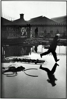 Bid now on Behind the Gare Saint-Lazare, Paris by Henri Cartier-Bresson. View a wide Variety of artworks by Henri Cartier-Bresson, now available for sale on artnet Auctions. Street Art Photography, History Of Photography, Fishing Photography, Artistic Photography, Film Photography, Digital Photography, Urban Photography, Color Photography, Robert Frank