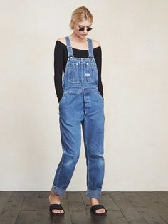 What to wear when you literally can't even. The Hyperion Overall is a vintage overall that we hand-pick and give a good cleaning to. It's got a wider leg and the fit is loose and relaxed. Every gal needs a pair. https://www.thereformation.com/products/hyperion-overall-palisades?utm_source=pinterest&utm_medium=organic&utm_campaign=PinterestOwnedPins