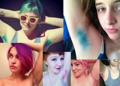 19 Best Armpit Dying Images Dyed Armpit Hair Colored Hair