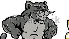 Panthers, Clip art and Art blog on Pinterest