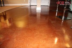 Finishing your #concrete floors with an acid stain can really bring out their beauty. Call today for a free quote. (440) 937-4457   #SimplyTheBest