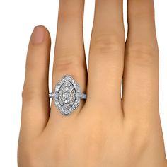 The Oak Ring - Wish this weren't just diamonds but it is still breathtaking!