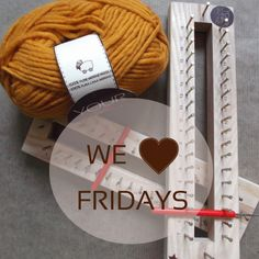 We <3 fridays! Knitting Revolution / Knitting without needles / Tejer sin agujas es posible