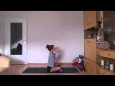 Gentle yoga routine  www.sixpackbags.com