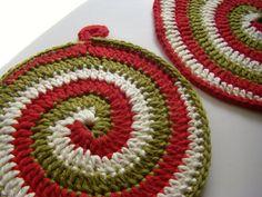 New Free Crochet Pot Holder Patterns | Free Crochet Pattern ckc-pot Pot Holder / Hot Pad : Lion Brand