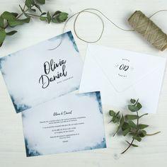 Invitación de boda NOHRA Summer Of Love, Place Cards, Place Card Holders, Card Designs, Wedding Invitations