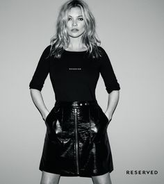 Kate Moss stars in Reserved's fall-winter 2017 campaign Kate Moss is the new face of Polish fashion brand Reserved's fall-winter 2017 campaign. Photographed by Daniel Jackson, the British beauty poses in black and white for the new advertisements. Kate shows off effortlessly cool ensembles styled by George Cortina. The supermodel poses in a mix of... [Read More]