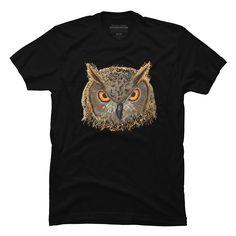 Pixel Owl Men's T-Shirt