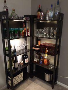 My DIY bar! More