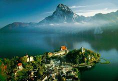 Traunkirchen am Traunsee, Upper Austria  The picturesque Salzkammergut lake district in Austria  http://www.travelandtransitions.com/austria-travel/