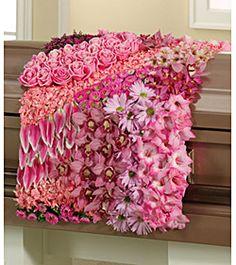 casket blanket of flowers - Blankets & Throws Ideas
