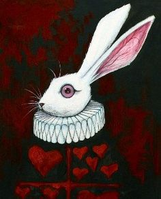 Queen's Court White Rabbit by Kevin Eslinger