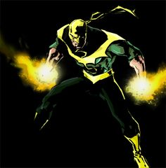 Iron Fist by Ben Willsher #Redesign