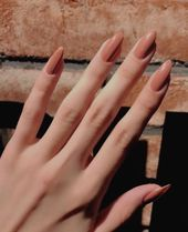 Acrylic Nails Wedding Gel Polish Splendide couleur de vernis à ongles tendance 20182017 yılının en trend oje Modelleri , en güzel oje desenleri, en il. Acrylic Nails Natural, Almond Acrylic Nails, Almond Nails, Pointy Nails, Coffin Nails, Fancy Nails, My Nails, Matte Nails, Nagel Blog