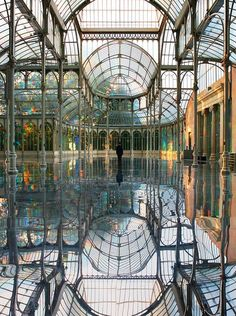 #TheCrystalPalace #Madrid #Spain #architecture #interior #design #photography #travel #building #palace