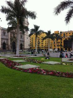 Plaza Mayor de Lima, Peru