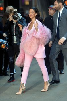 In Pascal Millet at Good Morning America. See all of Rihanna's best looks.