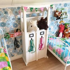 Seven Basic Inside Decorating Strategies And Concepts - Home Decor Ideas Horse Themed Bedrooms, Bedroom Themes, Girls Bedroom, Stick Horses, Cute Horses, Horse Crafts, Hobby Horse, Play Spaces, Planner