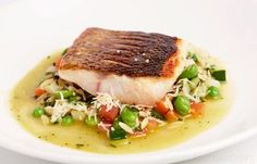Sea Bass Au Pistou Recipe by Galvin Brothers