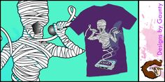 """""""That´s a wrap (finished)"""" t-shirt design by gaunty"""