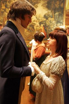 Lost in Austen - Amanda Price and Mr. Darcy
