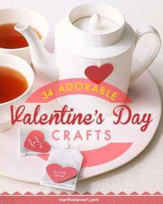 34 Adorable Valentine's Day Crafts | Martha Stewart Living - Show your valentine some DIY love with our heartfelt crafts.