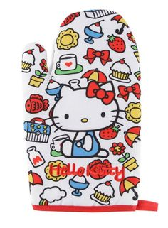 The Hello Kitty Oven Mitt makes the perfect accessory for any home chef