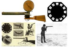 Did You Know: The Worlds First Portable Motion Picture Camera was a 12fps Rifle