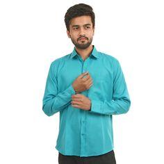 Mark Polo London Solid Men's Formal Shirt In Skyblue Color  #Menshirts #menshirtsonline #Bestpriceshirts #Shirtsonline