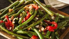 "Finding healthy and tasty side-dishes can be hard. Especially if you're cooking for guests - nobody wants to serve up plain ""boring"" veggies! One of my favourite side-dishes is green beans. Here are some budget friendly, delicious recipes. Bean Recipes, Side Dish Recipes, Vegetable Recipes, Vegetarian Recipes, Cooking Recipes, Healthy Recipes, Grilling Recipes, Delicious Recipes, Vegetable Sides"
