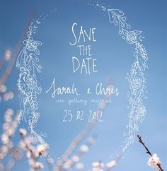 Save the date ♥