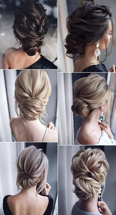 26 gorgeous updo wedding hairstyles from tonyastylist page 2 of 2 oh best day ever day gorgeous hairstyles page tonyastylist updo wedding hochsteckfrisuren hochzeit frisur ideen Bridal Hair Updo, Wedding Hair And Makeup, Hair Makeup, Wedding Hair Styles, Low Bun Wedding Hair, Wedding Hairstyle For Bride, Medium Hair Wedding Styles, Wedding Hair Blonde, Bridesmaid Hair Updo