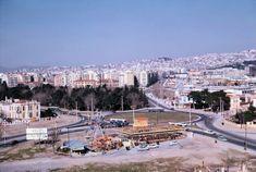 Το Λούνα Παρκ στην αρχή της Βασ. Γεωργίου, απέναντι από το σημερινό Δημαρχείο, το 1963.   Φωτογραφία: Κλείτος Κύρου