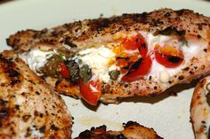 Mennonite Girls Can Cook: Feta and Tomato Stuffed Chicken Breasts