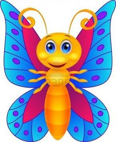 Illustration about Illustration of Funny butterfly cartoon. Illustration of clip, butterfly, antenna - 33233097 Cartoon Butterfly, Butterfly Clip Art, Butterfly Drawing, Cute Butterfly, Cute Images, Cute Pictures, Cute Couple Cartoon, Kids And Parenting, Painted Rocks