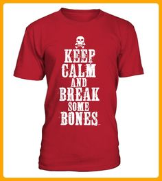 KEEP CALM AND BREAK SOME BONES - Rugby shirts (*Partner-Link)