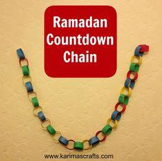 Karima's Crafts: Ramadan Countdown Crafts - 30 Days of Ramadan Crafts