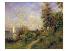 Pierre Renoir: Antibes, 1888